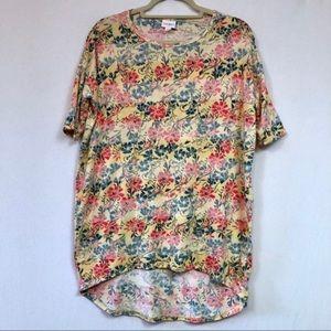LulaRoe Irma Floral Print Size XS